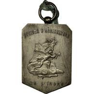 France, Médaille, Société D'Agriculture De L'Indre, 1901, TTB+, Silvered - France