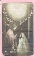 Plechtige H. Communieprentje - Irène Cools - Arendonk 1952 - Images Religieuses