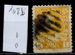 Canada - Kanada 1918-25 Y&T N°108b - Michel N°108Do (o) - 1c George V - 1911-1935 Règne De George V