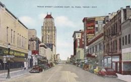 Texas El Paso Texas Street Looking East - El Paso