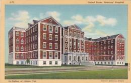 Texas Dallas United States Veterans Hospital At Lisbon 1942 Curteich - Dallas