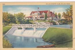 Texas Dallas The Dallas Country Club 1942 Curteich - Dallas