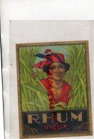 ETIQUETTE RHUM VIEUX- BRUXELLES - Rhum