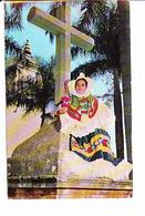 MEXIQUE, TEHUANTEPEC OAXACA, Religieuse En Costume, Tehuana Religiosa, Folklore, Ed. Lito Juventud 1970 Environ - Mexique