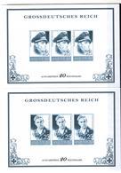 + 2281 , 2 X Grossdeutsches Reich,  Fälschung, Lückenfüller - Allemagne