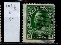 Canada - Kanada 1918-25 Y&T N°109b - Michel N°10Do (o) - 2c George V - 1911-1935 Règne De George V