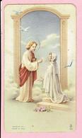 Plechtige H. Communieprentje - Paula Blockx - Arendonk 1951 - Images Religieuses