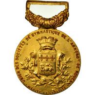 France, Union Des Sociétés De Gymnastique De Rouen, Mérite, Médaille - Militaria