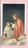 Plechtige H. Communieprentje - Anny Bols - Arendonk 1954 - Images Religieuses