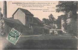Cpa 17 Surgères Usine De Cornet - Surgères