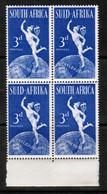 SOUTH AFRICA  Scott # 111** VF MINT NH BLOCK Of 4  LG-959 - Blocchi & Foglietti