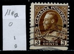 Canada - Kanada 1918-25 Y&T N°110b - Michel N°110Do (o) - 3c George V - 1911-1935 Règne De George V
