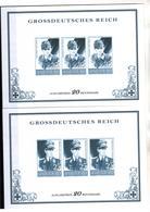 + 2282 , 2 X Grossdeutsches Reich,  Fälschung, Lückenfüller - Allemagne