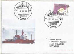 CC CON MAT BUQUE POLAR HESPERIDES ANTARTIDA ANTARCTIC ANTARCTICA ARCTIC ARTICO - Barcos Polares Y Rompehielos