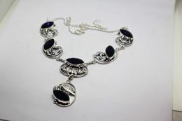 Collana Di Iolite Blu  Misura 51 Cm. - Necklaces/Chains