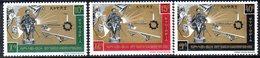 ETP123 - ETIOPIA 1966 ,  Yvert  N 469/471    ***  RAS TAFARI - Etiopia