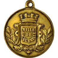 France, Médaille, Ville De Bacqueville, Normandie, Cavalcade, 1888, TTB+ - France