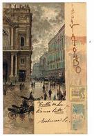 Cartolina - Postcard / Viaggiata - Sent / Pittorica – Napoli – Via Toledo - Napoli