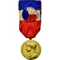 France, Médaille D'honneur Du Travail, Médaille, 1966, Non Circulé, Borrel - Other