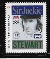 CANADA 2017,   2993i, CANADA FORMULA 1, GRAND PRIX DU CANADA : DIE CUT Sir Jackie  Stewart - Booklets
