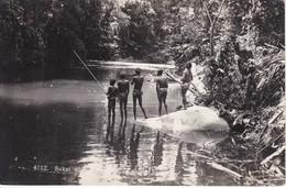 4112 POSTAL DE SAKAI DE INDIOS NATIVOS PESCANDO (MALASIA-MALASYA) - Malasia