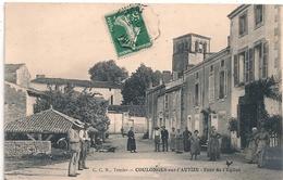 Cpa 79 Coulonges Tour De L'église - Coulonges-sur-l'Autize