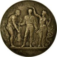 France, Médaille, Prix De Gymnastique, Offert Par René Coty, Borrel.A, TTB+ - France
