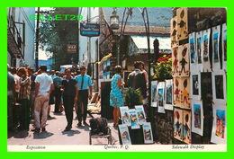 QUÉBEC - EXPOSITION DE LA RUE DU TRÉSOR - CIRCULÉE EN 1977 - - Québec - La Cité