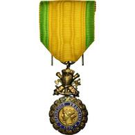 France, Troisième République, Valeur Et Discipline, Médaille, 1870, Non - Other