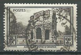 France YT N°389 Arc De Triomphe D'Orange Oblitéré ° - France