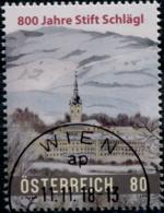 Austria 2018 800 Jahre Stift Schlägl GESTEMPELT/USED/O - 1945-.... 2. Republik