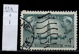 Canada - Kanada 1948 Y&T N°228 - Michel N°247 (o) - 4c Parlement D'Ottawa - 1937-1952 Règne De George VI