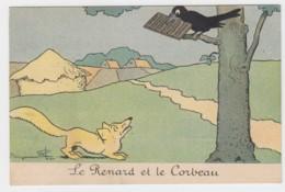 Illustrateur RABIER -LE RENARD ET LE CORBEAU  (lot Pat 15 ) - Rabier, B.
