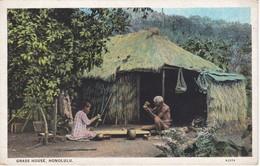 POSTAL DE GRASS HOUSE DE HONOLULU (CABAÑA) - Honolulu