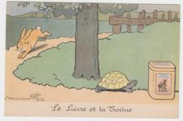 Illustrateur RABIER -Le Lièvre Et La Tortue  (lot Pat 15 ) - Rabier, B.