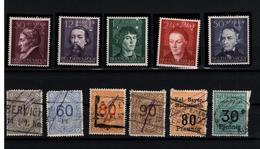 + 2284,  Lot Deutsches Reich - Timbres