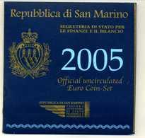 COFFRET SAN MARINO 2005 !!! - San Marino