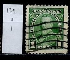 Canada - Kanada 1935 Y&T N°179 - Michel N°184 (o) - 10c George V - 1911-1935 Règne De George V