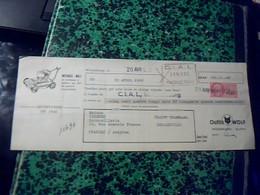 Vieux Papier Lettre  De Change Outils WOLF ANNEE 50 Fiscal 020 Ct - Cambiali