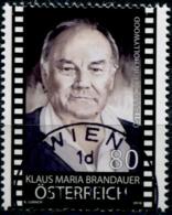 Austria 2018  Österreicher In Hollywood (X) GESTEMPELT/USED/O - 1945-.... 2. Republik