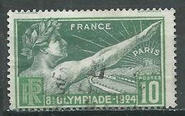 France YT N°183 Jeux Olympiques De Paris 1924 Oblitéré ° - Frankreich