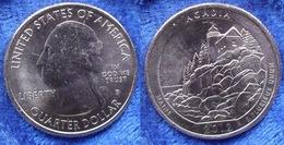 "USA - Quarter Dollar 2012 P ""Acadia - Maine"" KM# 521 America - Edelweiss Coins - Émissions Fédérales"