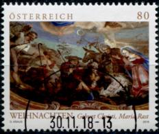 Austria 2018 Weihnachten Maria Rast GESTEMPELT/USED/O - 1945-.... 2ème République
