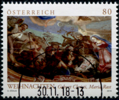 Austria 2018 Weihnachten Maria Rast GESTEMPELT/USED/O - 1945-.... 2. Republik
