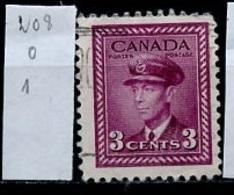 Canada - Kanada 1943-48 Y&T N°208 - Michel N°219 (o) - 3c Aviation - 1937-1952 Règne De George VI