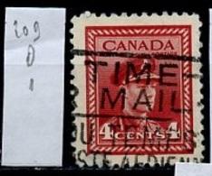 Canada - Kanada 1943-48 Y&T N°209 - Michel N°221 (o) - 4c Armée - 1937-1952 Règne De George VI