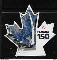 CANADA 2017  #3004i, CANADA 150th  CANADARM  SINGLE  DIE CUT - Booklets