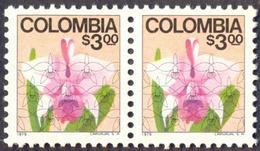 COLUMBIA - FLOWERS - ORCHIDS  - **MNH - 1979 - Orchidées