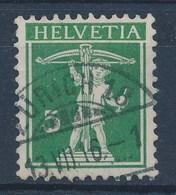 """HELVETIA - Mi Nr 113 - Cachet """"ZURICH 18"""" - (ref. 282) - Schweiz"""