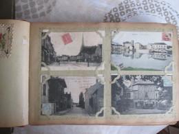 Album De Famille Avec Plus De 500 Cartes  Meme Correspondance   Avec Villages Et Animations . Fantaisies - 500 Postcards Min.